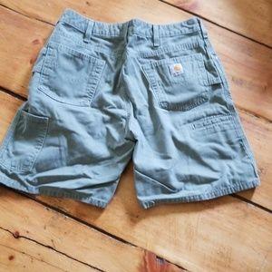 WOMENS size 12 Carhartt shorts.